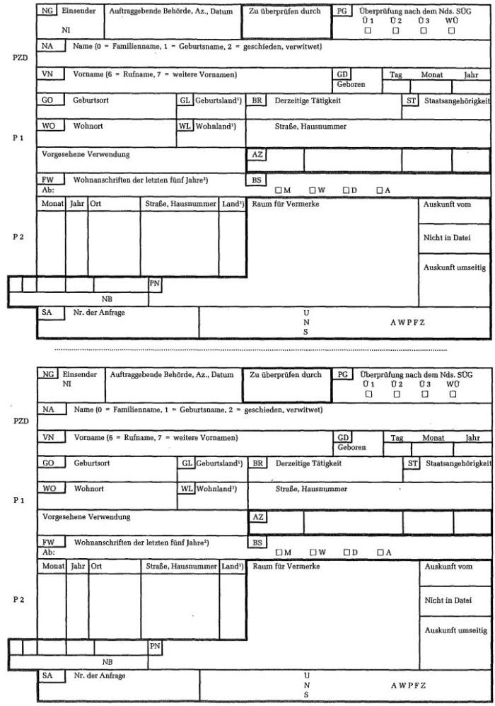 Einverständniserklärung Einsichtnahme Personalakte Muster : allgemeine verwaltungsvorschriften zur ausf hrung des nieders chsischen ~ Themetempest.com Abrechnung