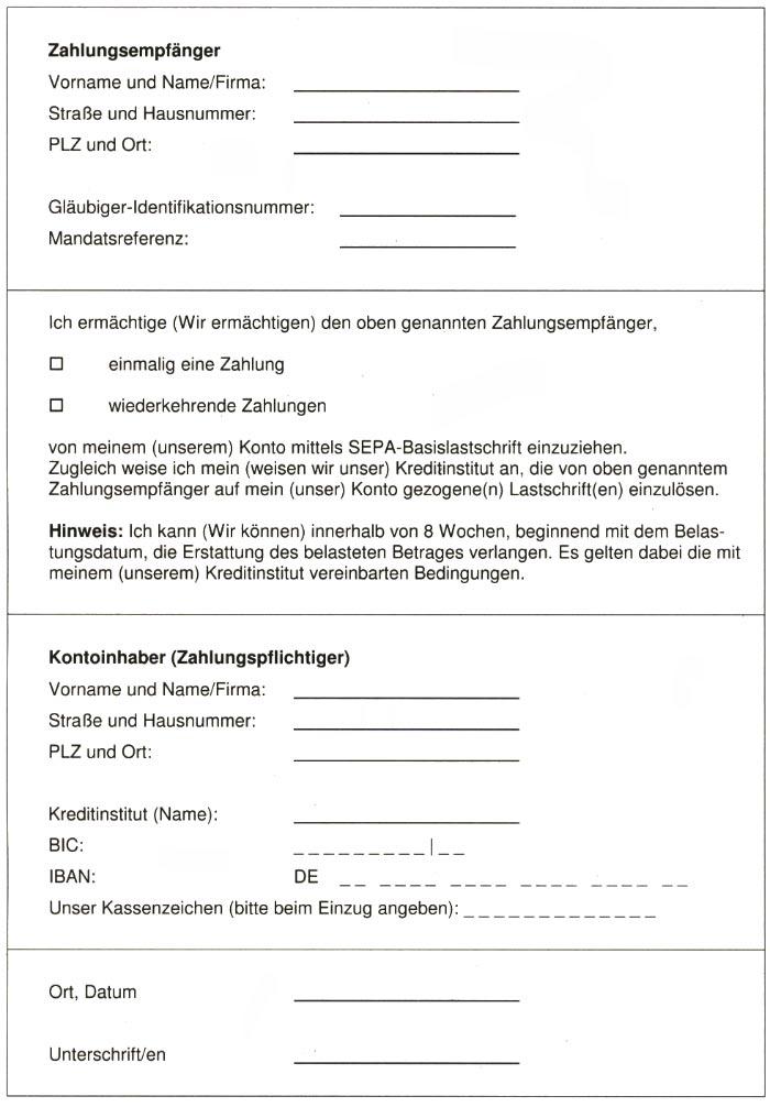 Formular Vordruck Sparkasse Kleve 7